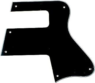 (E43) Les Paul LP Special Double Cut Style Guitar Pickguard ,3ply Black