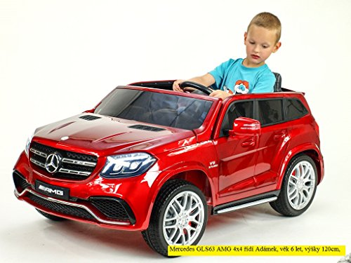 RC Auto kaufen Kinderauto Bild 3: Allrad f 2 Kinder XXL Kinderelektroauto kinderauto Mercedes GLS 63 4x4 gefedert Zweisitzer Kinderelektrofahrzeug 12V Jeep Offroader*