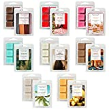 LASENTEUR Wax Melts, Scented Wax Melts, Wax Cubes for Wax Warmer, Wax Melts Wax Cubes for Women Gift Set, Natural Soy Wax Cubes Set of 8 Assorted Wax Cubes/Tarts for Home Fragrance