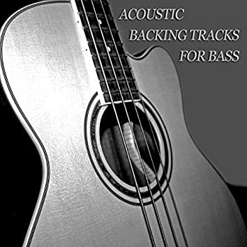 Acoustic Backing Tracks for Bass