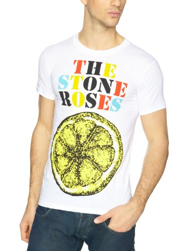 The Stone Roses - Camiseta con cuello redondo de manga corta para...