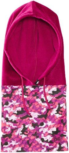 Buff Hoodie Schalmütze, multifunktional Rosa Camogum/Mardi Grape 23,5 cm