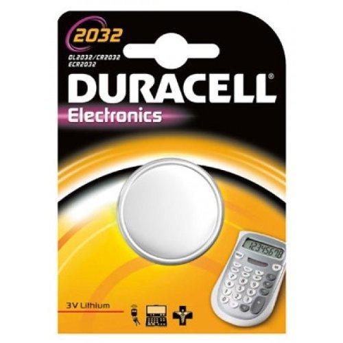 Duracell 2x CR 2032batería de Litio, CR2032, 3V