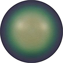5810 Swarovski Pearls Round Crystal Scarabaeus Green Pearl | 8mm - Pack of 50 | Small & Wholesale Packs