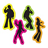 Beistle 4 Piece Groovy Disco 70's Theme Cut Outs Decorations 1970's...