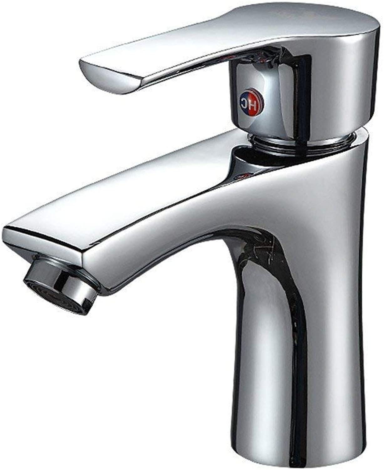 Oudan Washbasin, Washbasin, Washbasin, Faucet, Cold and Hot Single Hole,A (color   B, Size   -)