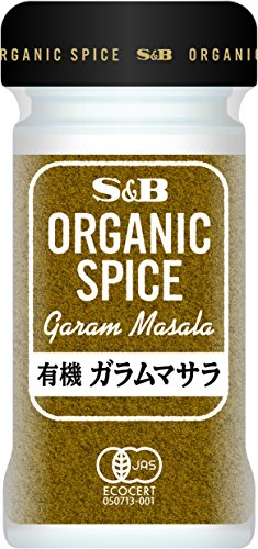 S&B ORGANIC SPICE 有機ガラムマサラ 22g