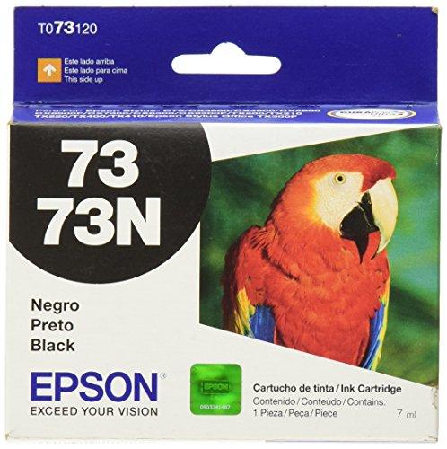 Epson T073120-AL Cartucho de Tinta No. 73 para Stylus 3900/4900/5900, Color Negro