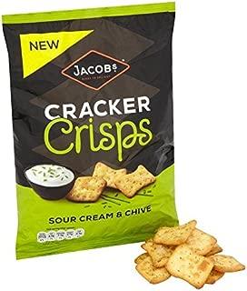 Jacob's Cracker Crisps Sour Cream & Chive - 150g