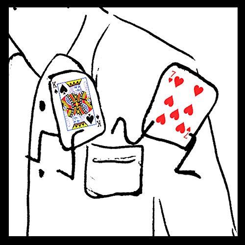 SMART STEALER   Wahnsinns Kartentrick ohne Fingerfertigkeit   Selbstläufer Zaubertrick dank Profi Zauber-Karten   Bicycle Deck für Kartentricks   Zaubertricks mit Karten   Zaubern lernen für Anfänger