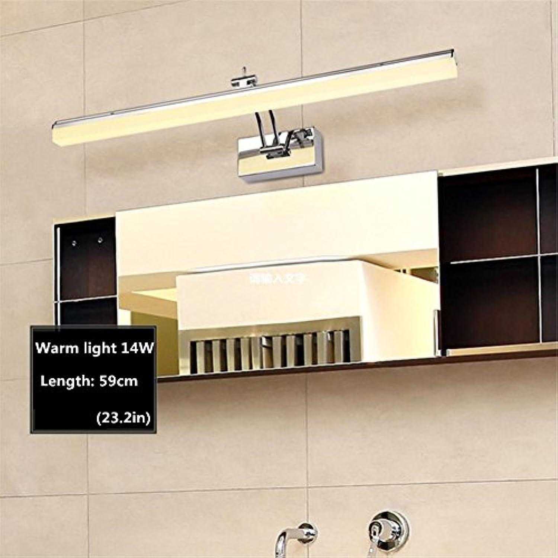 YL-Light LED-Spiegel Vorne Lichter Spiegel Schrank Lichter Badezimmer Badezimmer Lichter Make-up Lichter Einfache Dressing Tischlampe Spiegel Lampen, c