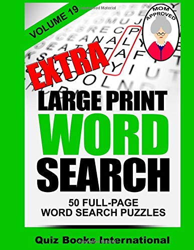 Extra Large Print Word Search Volume 19