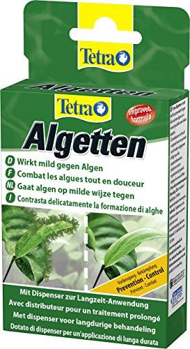 Tetra Algetten (zur Vorbeugung und milder Langzeitbekämpfung von Algen in kleineren Aquarien, bekämpft dauerhaft alle Algenarten), 1er Pack (12 Tabletten)