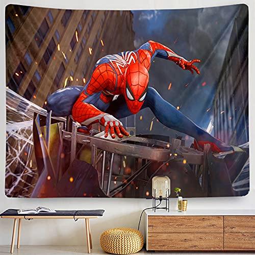 biejuyige Tapisserie Tenture Murale Spiderman Tapisseries Imprimées 3D Tente De Camping Voyage Plage De Sable Jeter Drap De Lit B119 240X260Cm