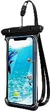 Telefoon Tassen & Cases Waterdichte Telefoon Case Floatable Onderwater Telefoon Pouch Droge Tas met Lanyard Zwart