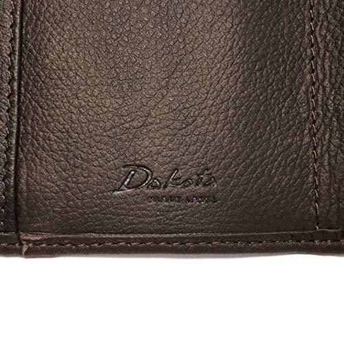 [ダコタ]DakotaBLACKLABELブラックレーベルリバー3三つ折り財布0627700チョコ/41