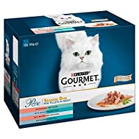 Delicious variety of cat food with premium quality fish in a tasty sauce A tempting variety of flavours to tempt your cat's taste buds Served in 85g pouches to keep every meal fresh and convenient Packed with essential vitamins and minerals to keep y...
