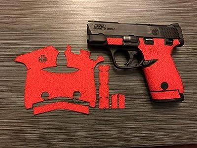 Handleitgrips Smith and Wesson Shield 9/40 Gun Grip Enhancement Gun Parts Kit, Black