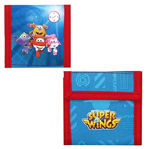 Super Wings Portemonnaie | Rescue Power Kinder Geldbörse