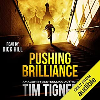 Pushing Brilliance audiobook cover art