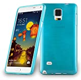 Cadorabo Case works with Samsung Galaxy NOTE 4 in TURQUOISE