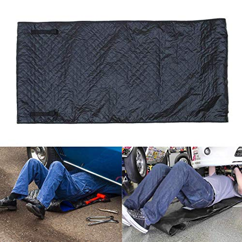 omotor Automotive Car Creeper, Zero Ground Auto Mechanics Repair Creepers Mat Rolling Pad Under The Vehicle for Cars Working and Household (Black)