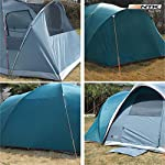 NTK Laredo Gt 8 To 9 Person 10 By 15 Foot Sport Camping Tent 100% Waterproof 2000Mm Dark Teal 5