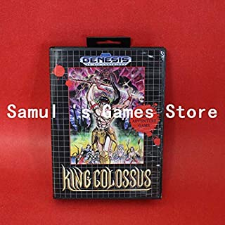 Value-Smart-Toys - King Colossus Boxed Version 16bit MD Game Card For Sega Genesis