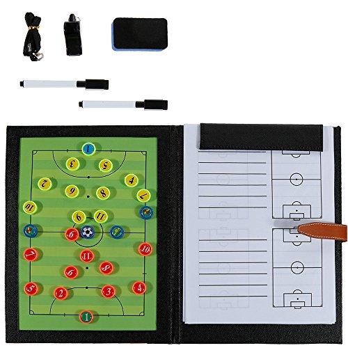 Rovtop 6 En 1 Carpeta Táctica Entrenamiento Fútbol