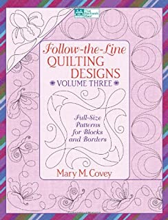 Follow-the-Line Quilting Designs, Vol. 3: Full-Size Patterns for Blocks and Borders