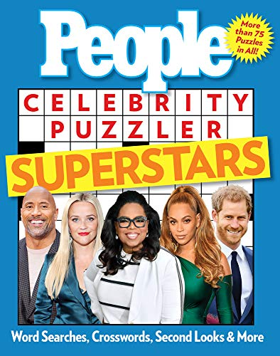 People Celebrity Puzzler Superstars: Word Searches, Crosswords, Second Looks, and More