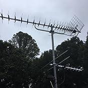 Antenne HDTV Int/érieure Antenne /à Base Magn/étique pour Am/éliorer la Force et la Qualit/é des Signaux Num/ériques et Analogiques Yosoo Health Gear Antenne Ventouse Num/érique HDTV