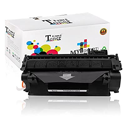 1 PACK/2 PACK/4 PACK/10 PACK TonerDepot NEW Compatible with HP CE505A Toner Cartridge Multi-Fit Black Ink Box for HP and Canon Printer series