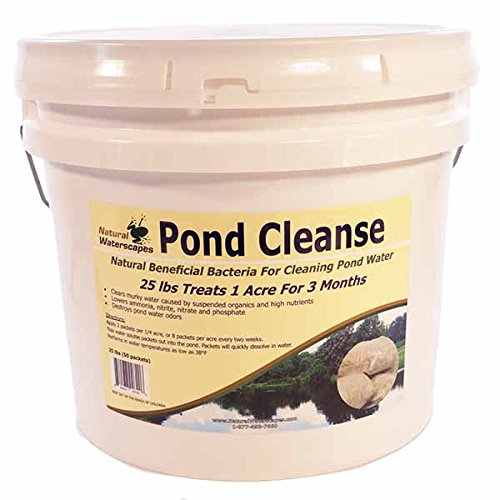 Natural Waterscapes Pond Cleanse Bacteria Packets 25 lb