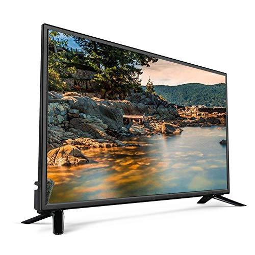 JCOCO TV HD de 32 pulgadas LED TV Fire TV incorporado WiFi USB Media Player HDMI Ultra Slim cuerpo Smart TV reproductor de vídeo para casa, cocina, salón, hotel, entretenimiento