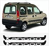 snstyling.com Pegatina para Encajar Renault Kangoo Pampa Lado Pegatina 2 Piezas Conjunto (Negro)