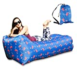 BACKTURE Aufblasbares Sofa, Single Port aufblasen Tragbares wasserdichtes Lounger Schlafsack...