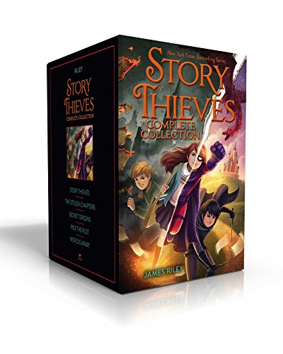 Compare Textbook Prices for Story Thieves Complete Collection: Story Thieves; The Stolen Chapters; Secret Origins; Pick the Plot; Worlds Apart Boxed Set Edition ISBN 9781534417991 by Riley, James