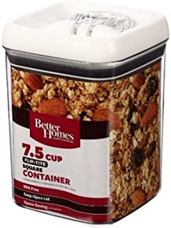 Better Homes and Gardens Flip-Tite 7.5 Cup Square Container (2 Packs)
