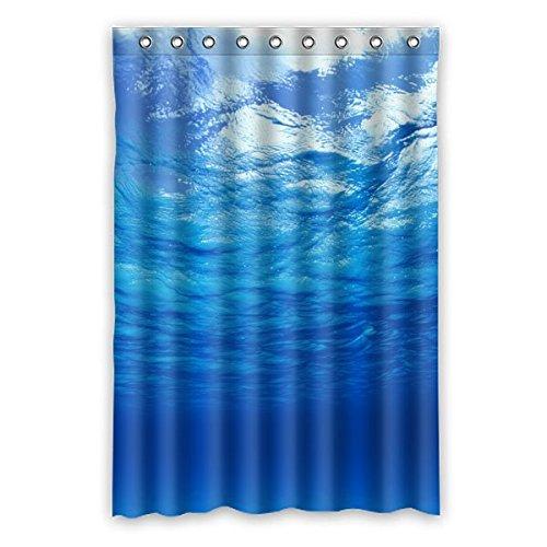 Wild costumes 120 cm x 183 cm (121,9 x 182,9 cm) Badezimmer Dusche Vorhang, faszinierende Unterwasserwelt, Persönlichen Casual Fashion Wasserdicht Duschvorhang, Polyester, D, 48