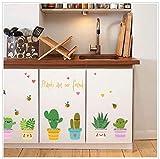 SANDIN Wandtattoo Bunte Blume Pflanzen Schmetterling Wandmotiv Bordüren Schlafzimmer Sofa im Wohnzimmer TV Wandaufkleber