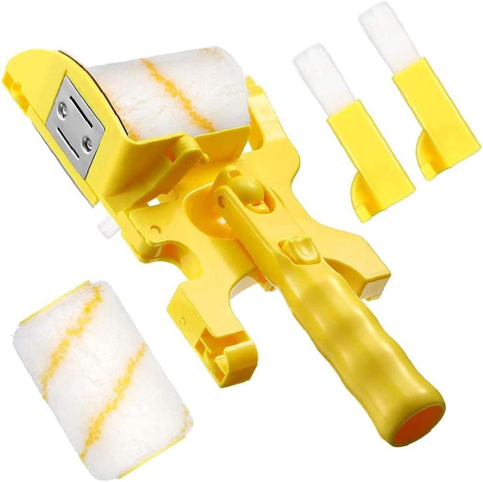 Great Sales results No. 1 interest Paint Roller Set Handheld Wall with Brush Rep Edger