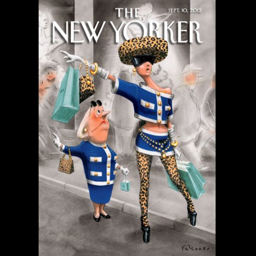 The New Yorker, September 10th 2012 (Alexander Hemann, Ryan Lizza, Ariel Levy) copertina