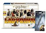 Harry Potter El loco laberinto de Ravensburger in der Welt juego clásico para toda la familia 4005556260317 Pewter Key Ring: Harry's Wand