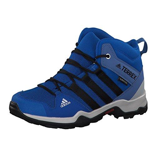 adidas Terrex Ax2r Mid CP K, Chaussures de Randonnée Hautes Mixte, Bleu (Belazu/Negbás/Azretr 000), 38 EU