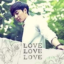 ROY KIM [LOVE LOVE LOVE] 1st Album CD+Photobook+Tracking Number K-POP SEALED