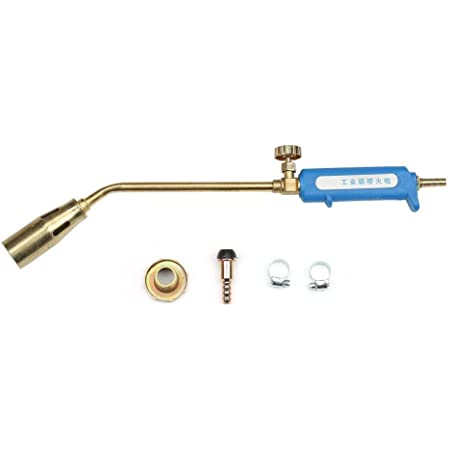 Pistola de calentamiento de soldadura industrial con boquilla de 30 mm, antorcha de pistola de llama de soplete de gas licuado(soltero)