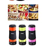 Electric Automatic Egg Roll, Multi-Function Breakfast Egg Roll, Machine Home DIY Egg Cooker Fast and Easy Automatic Electric Vertical (210 watts)