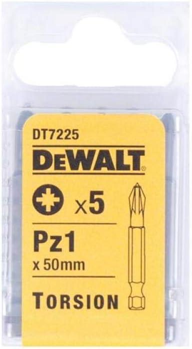 5 Piece Dewalt DT7258-QZ Torsion Bit T30 25mm