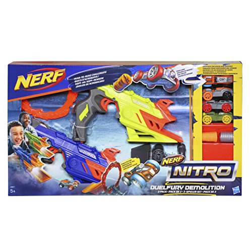 Nerf Nitro - Duelfurry, lanzador para demolición (Hasbro C0817EU40)